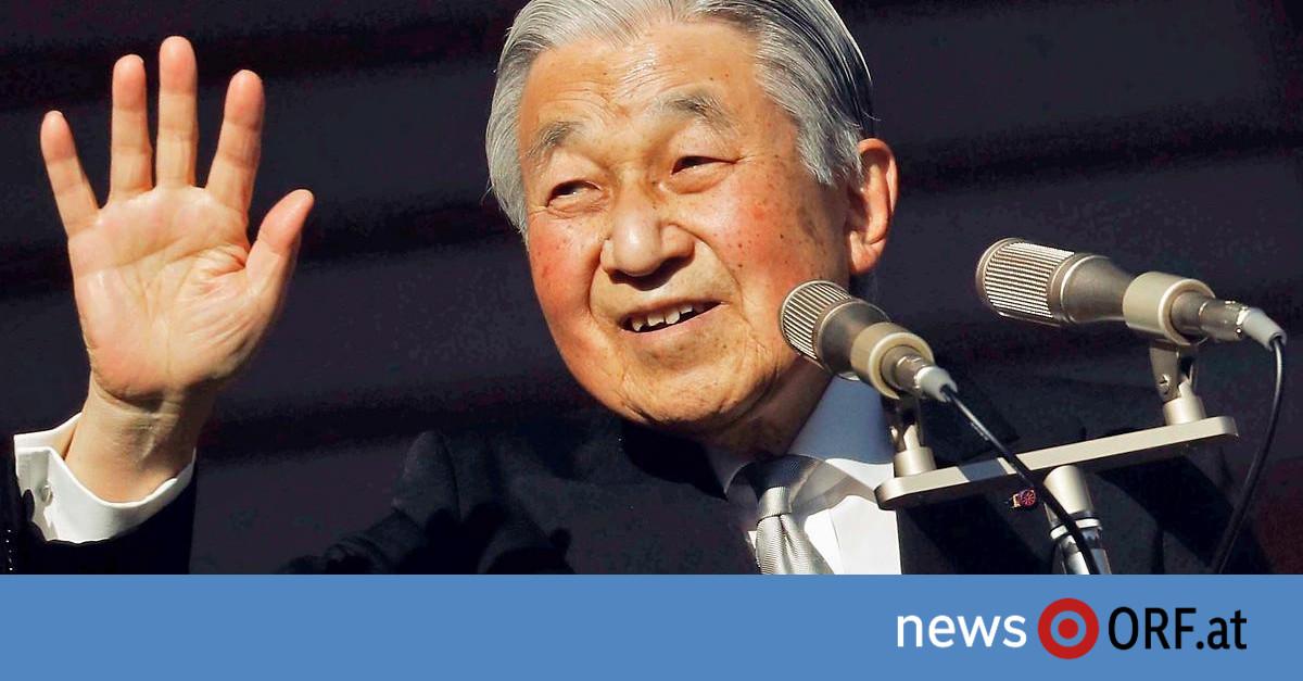 Kaiser Akihito dankt ab: Japan startet mit Premiere in neue Ära