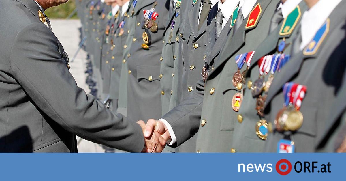 Bundesheer: Verwunderung über Offiziere in Ministerien