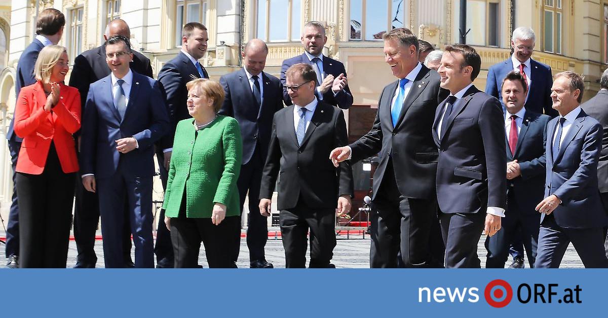 "EU-Gipfelerklärung: ""Vereint durch dick und dünn gehen"""