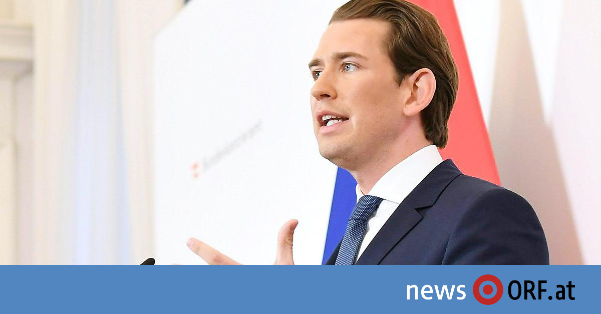 """""""Genug ist genug"""": Kurz will Neuwahlen"""