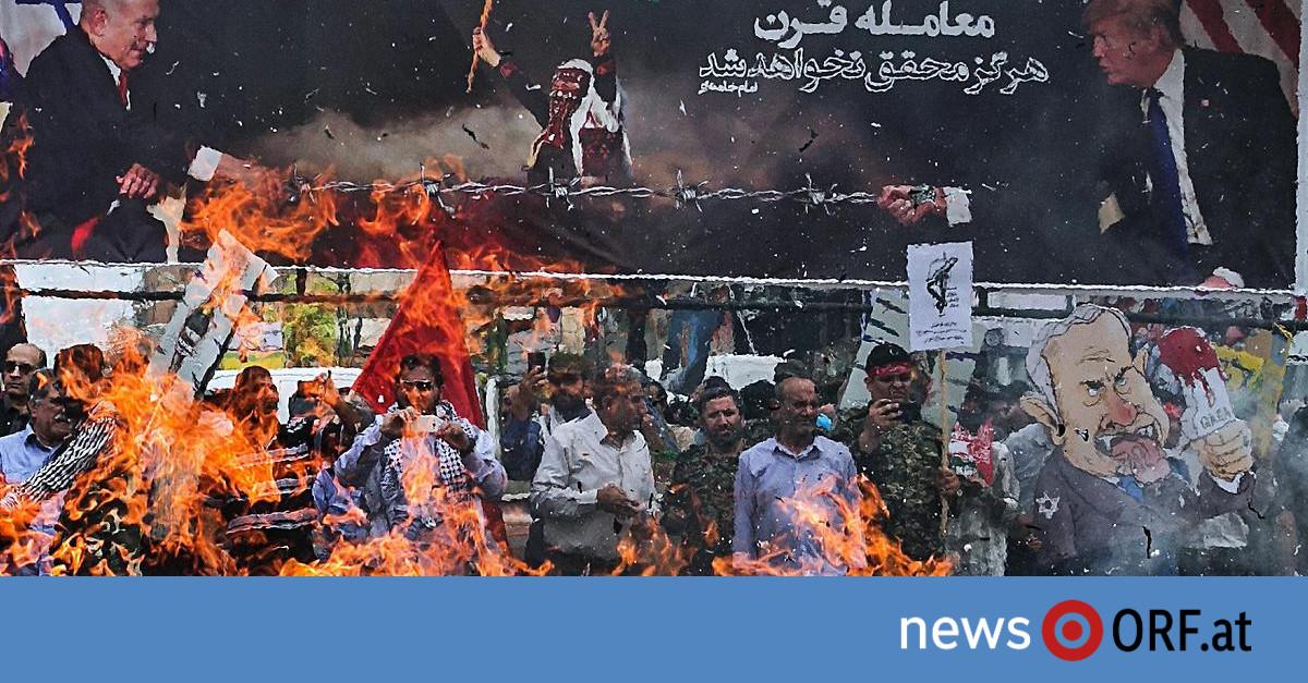 Massenproteste im Iran: Hunderttausende gegen Trumps Nahost-Plan