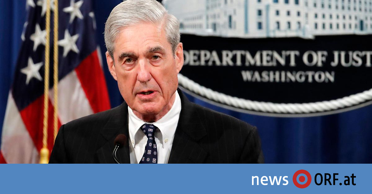 Letzter Auftritt: Mueller verweigert Trump Entlastung