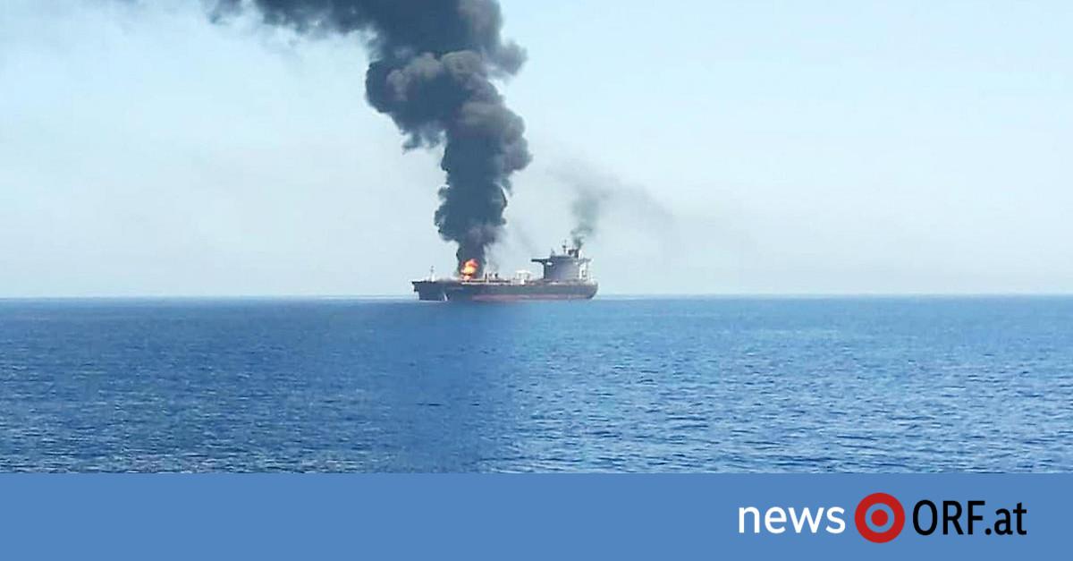 Mutmaßlicher Angriff: Notrufe zweier Tanker im Golf von Oman
