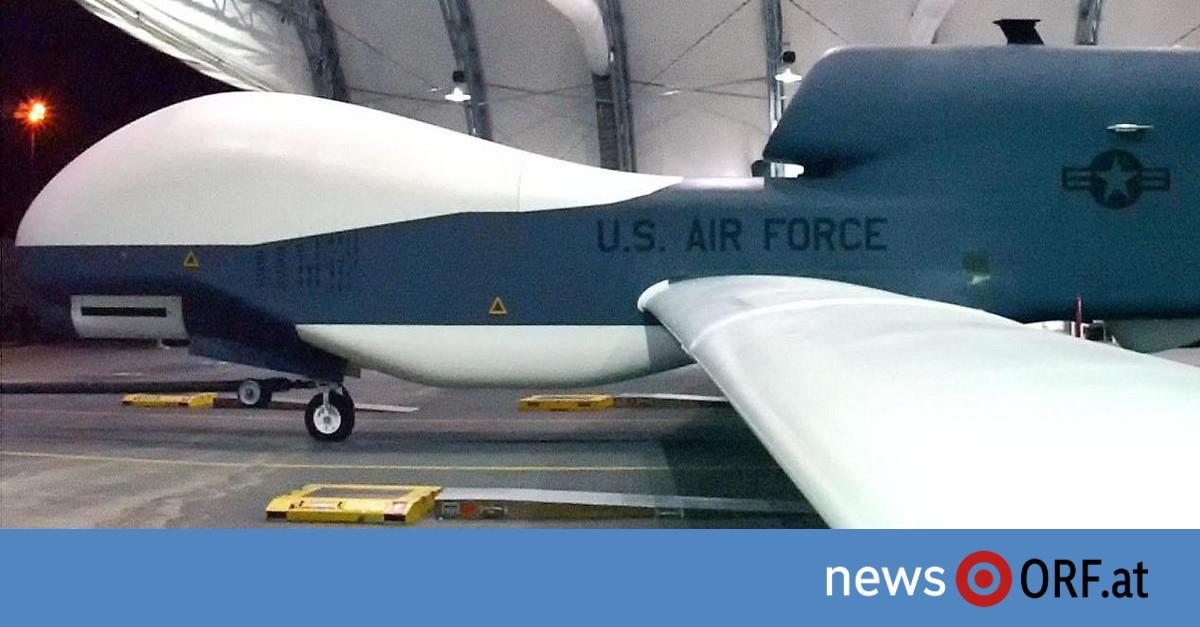 Iran-Konflikt: USA bestätigen Abschuss von Drohne