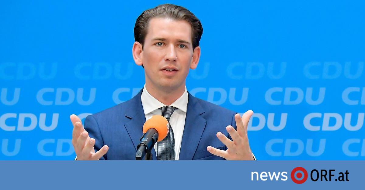 EU-Gespräche in Berlin: Kurz sagt von der Leyen Unterstützung zu