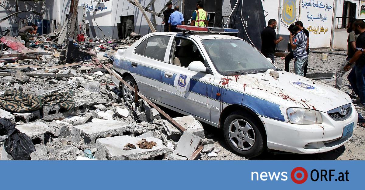 Bomben auf Flüchtlingslager: USA blockieren UNO-Erklärung zu Libyen