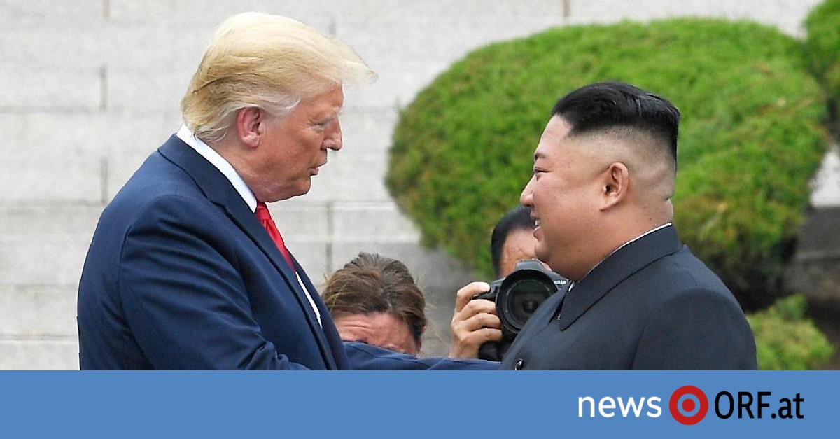 Historischer Schritt: Trump betrat nordkoreanischen Boden