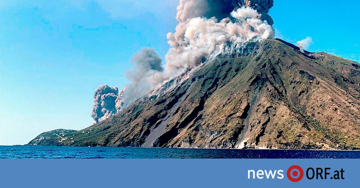 Italien: Ein Toter bei Ausbruch von Vulkan Stromboli