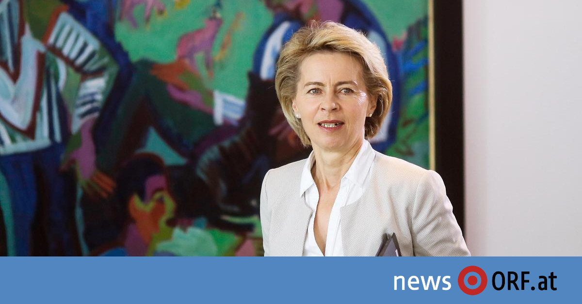 EU-Gipfel: Von der Leyen als Kommissionschefin nominiert