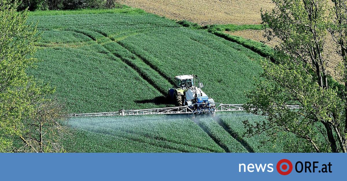 Erstes Land in EU: Nationalrat stimmt für Glyphosatverbot