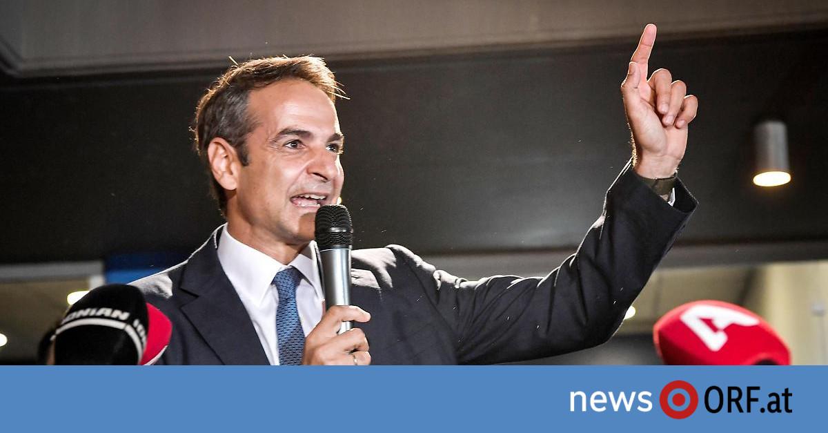 Griechenland: Wahlsieger kündigt Steuersenkungen an
