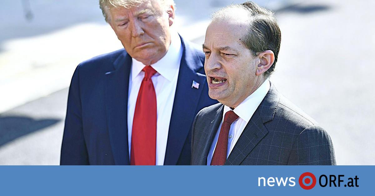 Causa Epstein: US-Arbeitsminister Acosta tritt zurück