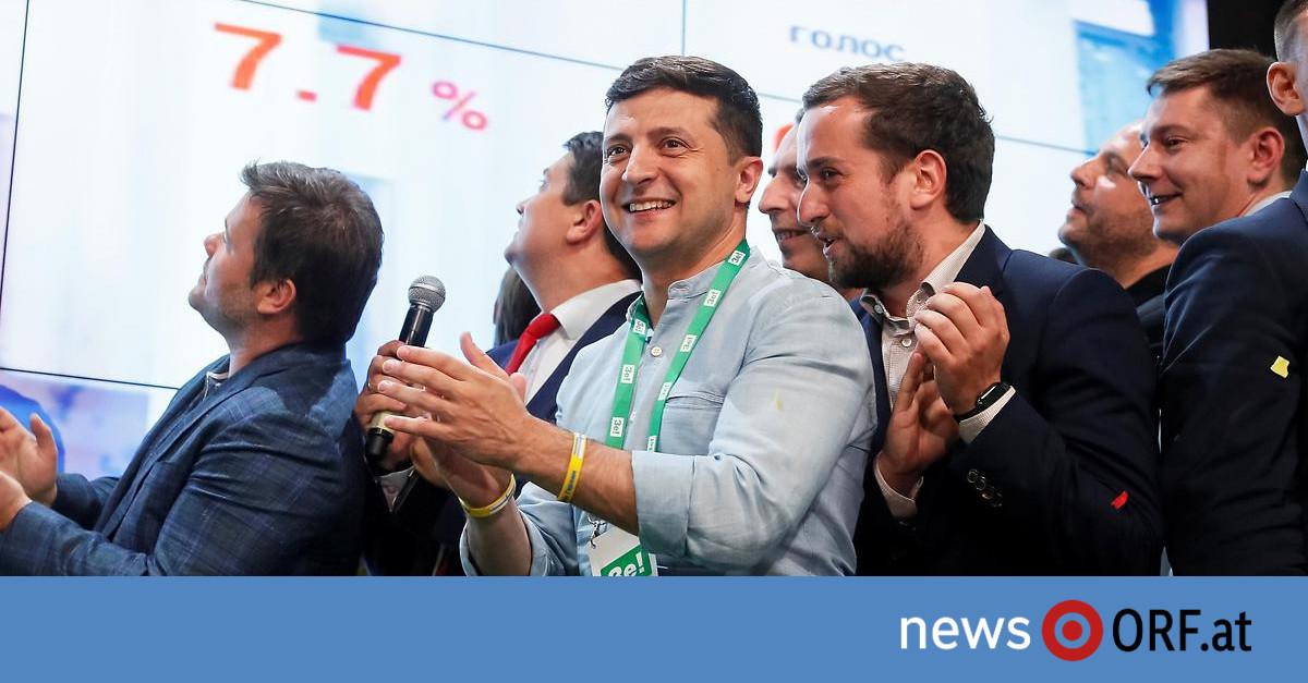 Ukraine-Wahl: Selenski-Partei klar voran