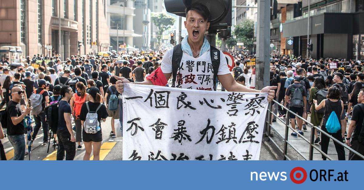 Hongkong: Zehntausende bei neuerlichen Protesten