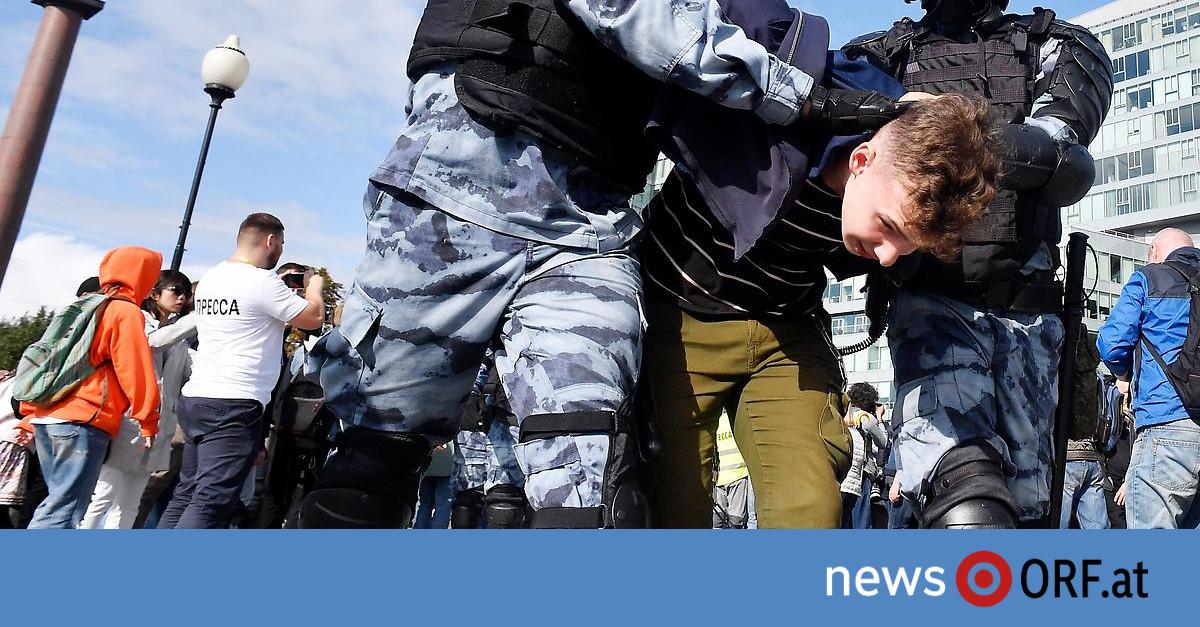Proteste der Opposition: Moskau setzt anhaltend auf Härte