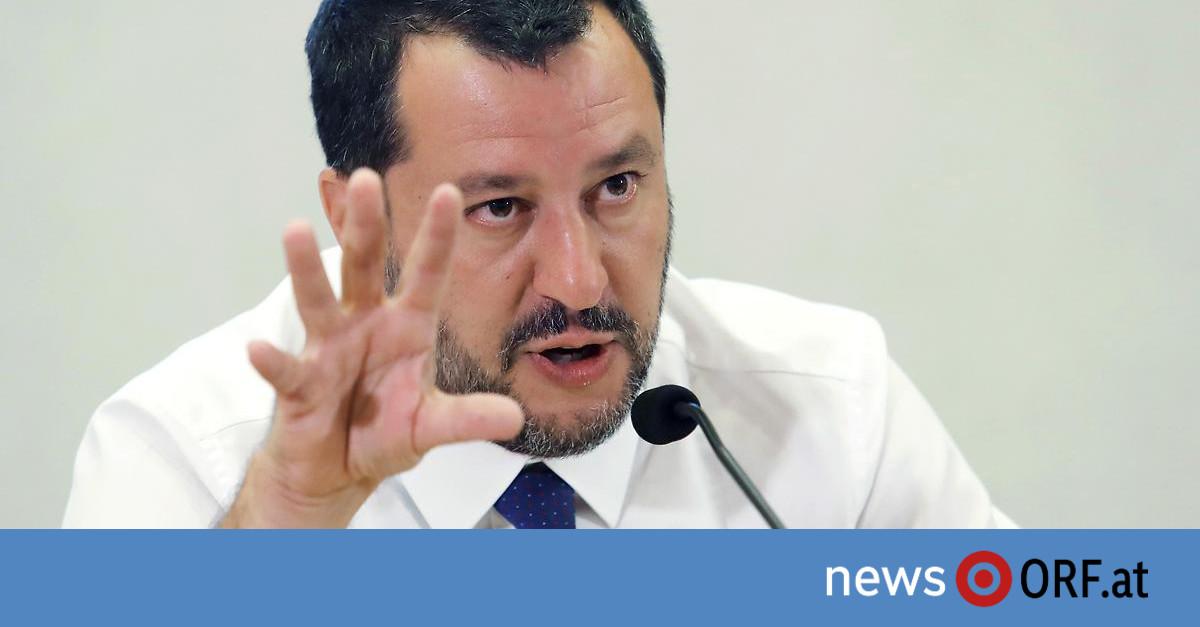 """""""Keine Mehrheit mehr"""": Salvini drängt auf rasche Neuwahl"""