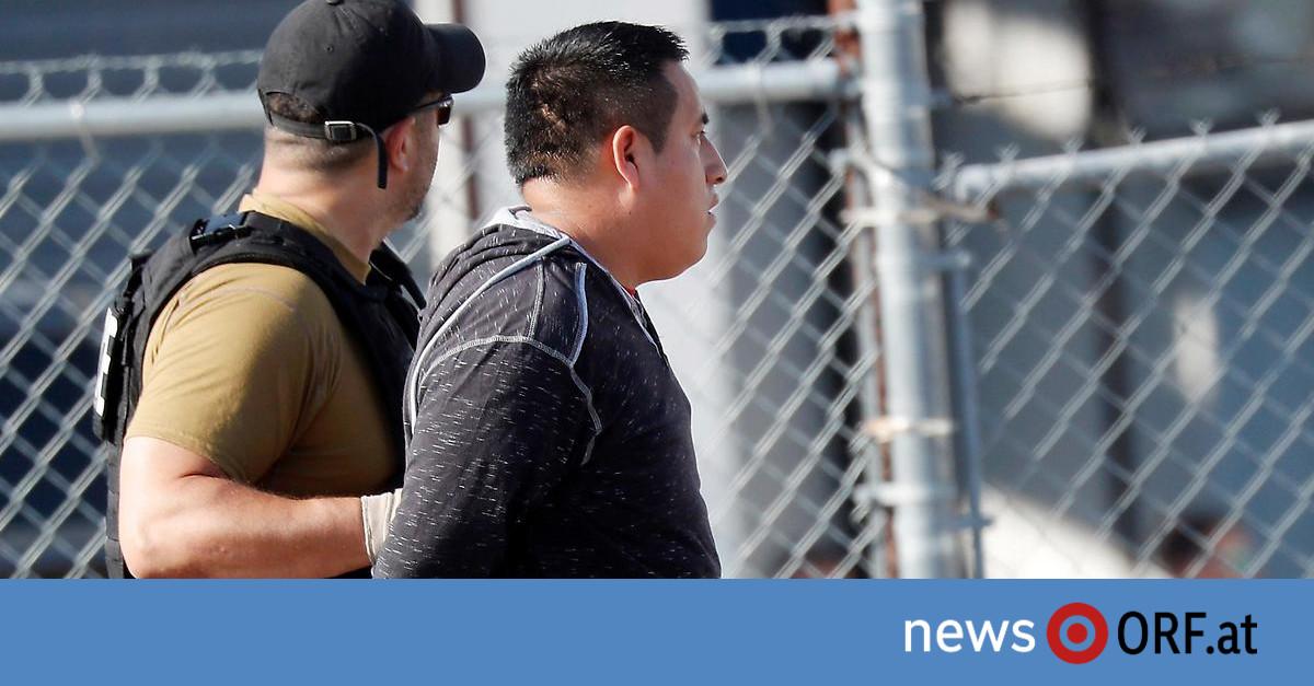 Razzien gegen Einwanderer: Hunderte in USA festgenommen ...