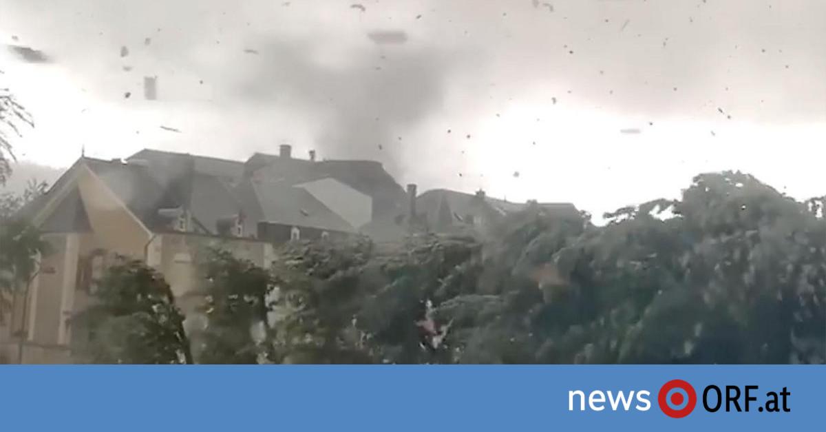 """Luxemburg: Tornado zog """"Schneise der Verwüstung"""""""