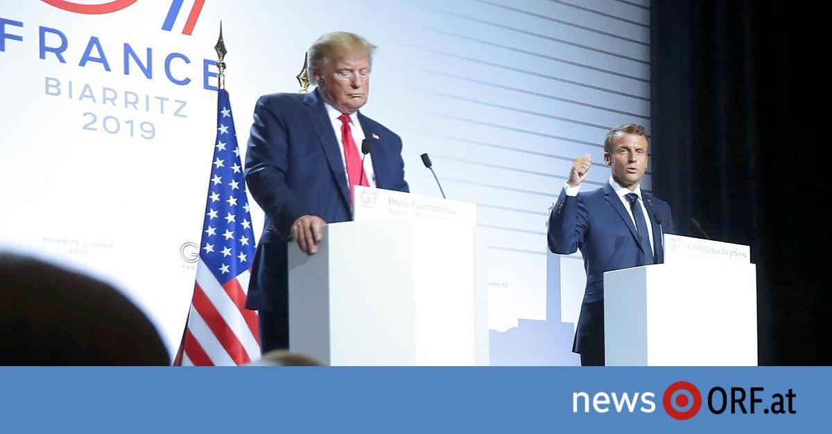 """Trump in Biarritz: """"Gute Chance"""" für Treffen mit Rouhani"""