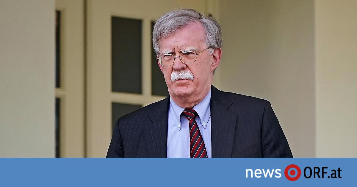Rücktritt eingereicht: Trump feuert Sicherheitsberater Bolton
