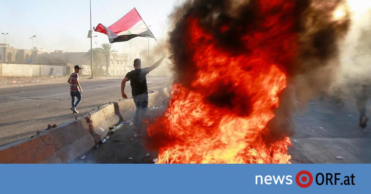 Fast 100 Tote bei Protesten: Irakische Regierung im Krisenmodus