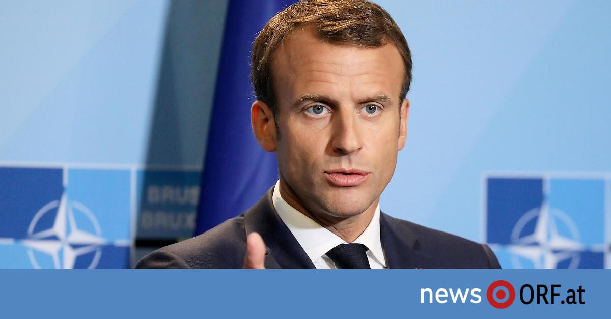 """Warnung an Europa: Macron bescheinigt NATO """"Hirntod"""""""
