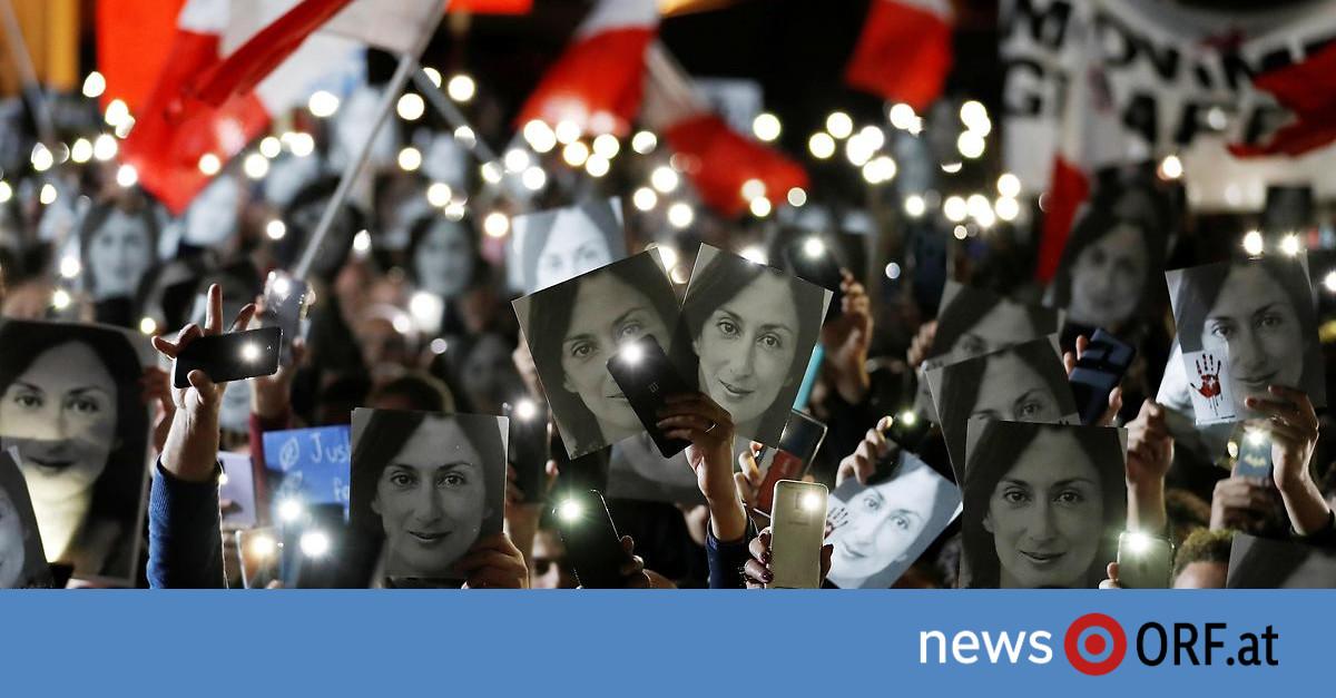 Mord an Journalistin in Malta: Geschäftsmann wegen Beihilfe angeklagt