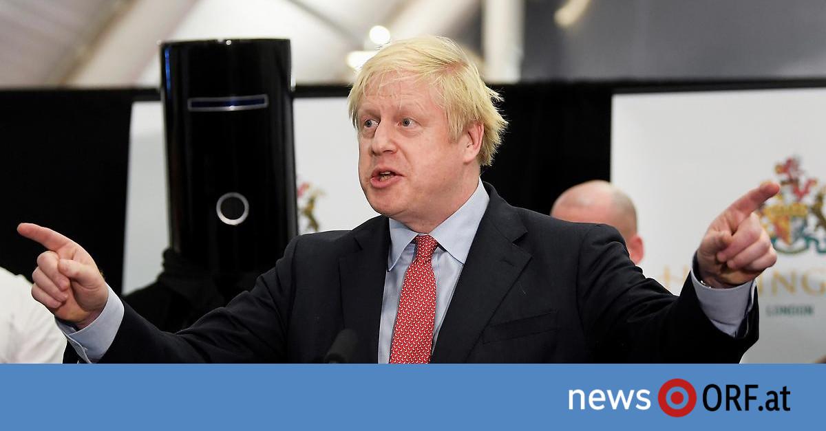 Großbritannien-Wahl: Absolute Mehrheit für Johnson
