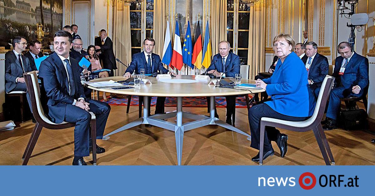 Ukraine-Konflikt: Gipfel in Paris schürt leise Hoffnungen