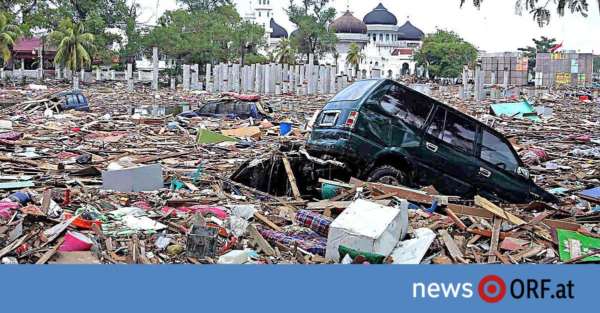 informationen zum tsunami in asien