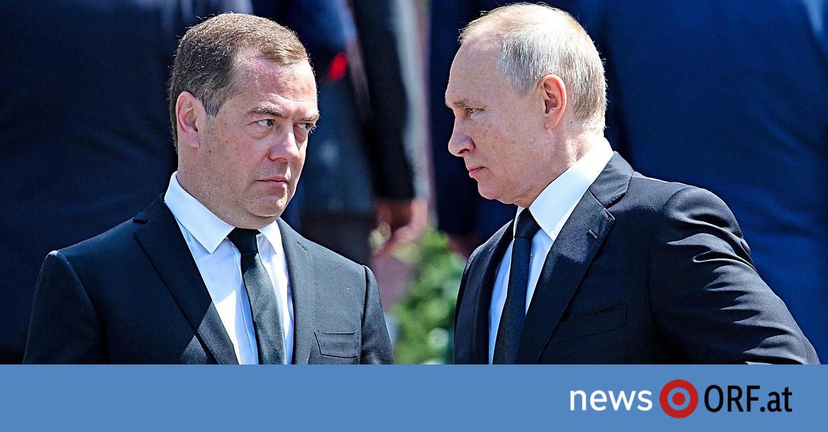 Nach Putin-Rede: Regierung Medwedew tritt zurück