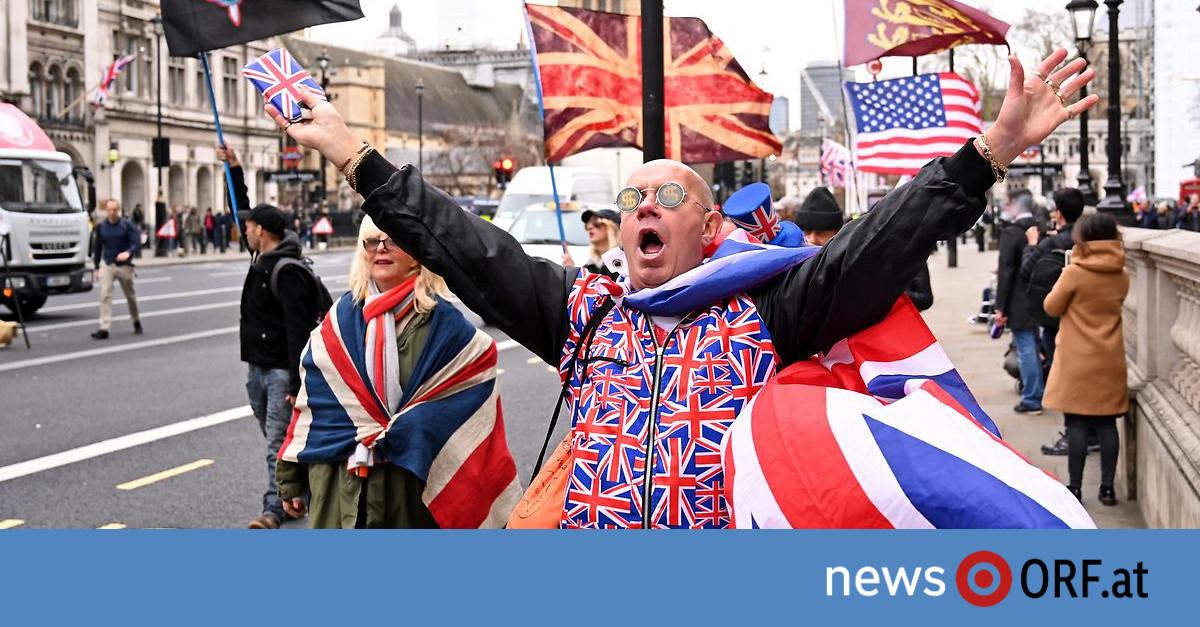Brexit Stimmung In England