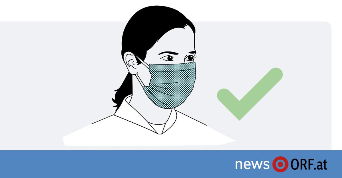 schutzschild statt maske erlaubt