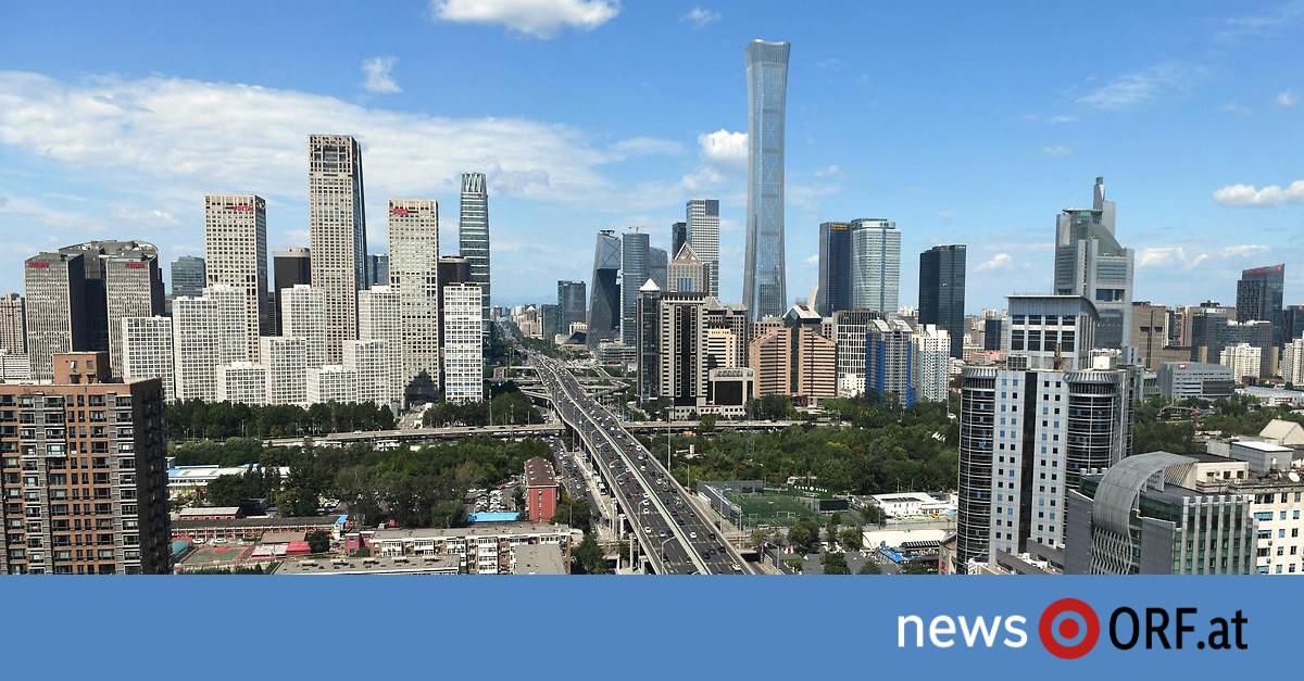 CoV-Krise überstanden: Chinas Wirtschaft wächst um Rekordwert