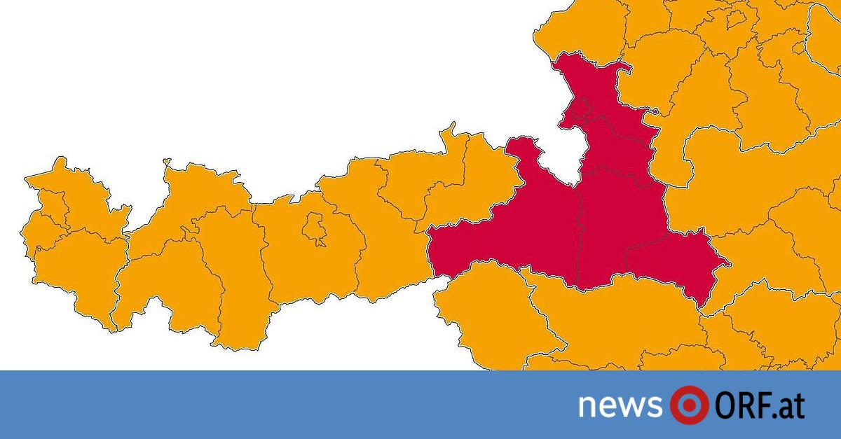 "CoV-Ampel: Wieder ""sehr hohes Risiko"" in Salzburg"