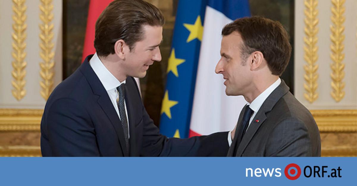 """Macron ortet """"starke Gemeinsamkeiten"""""""