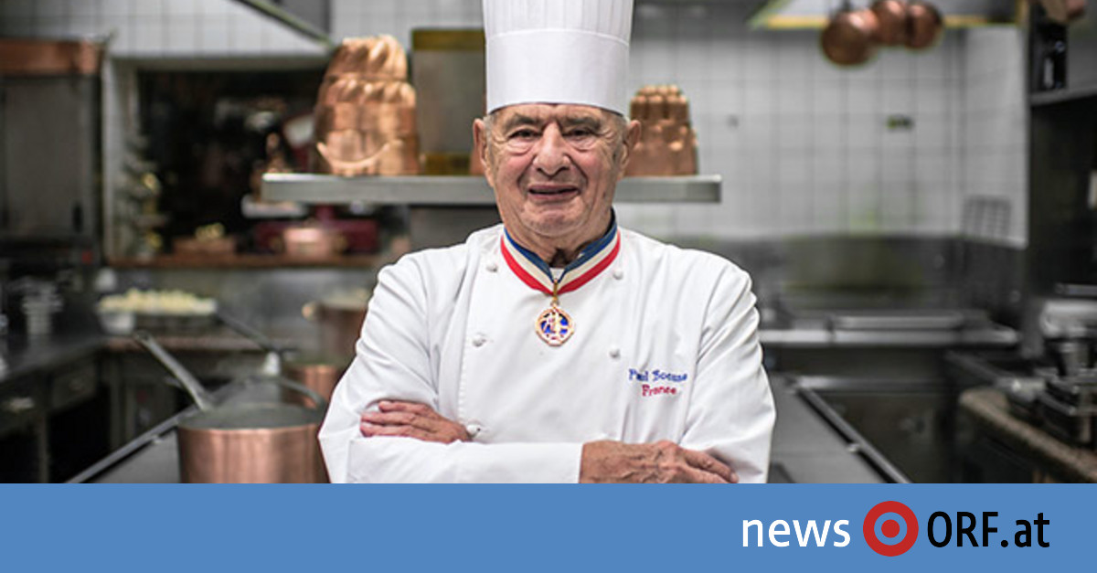 """Jahrhundertkoch"" Paul Bocuse ist tot"
