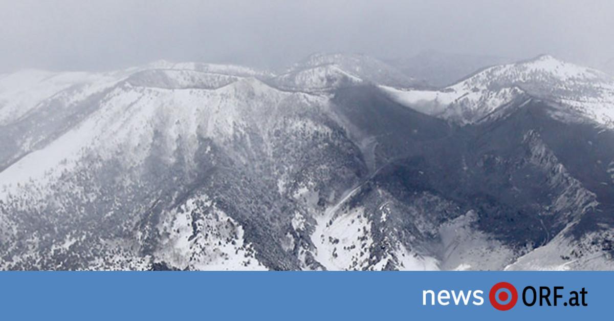 Vulkan und Lawine verletzen Skifahrer