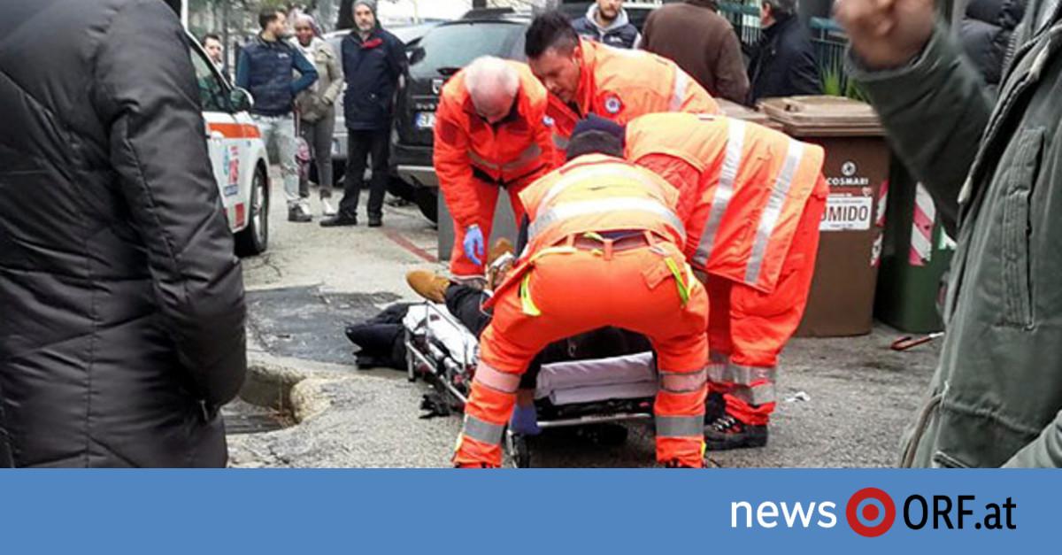 Schüsse auf Migranten erschüttern Italien