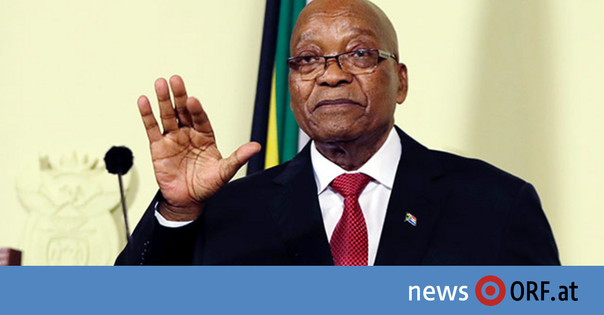 Südafrikas Präsident Zuma tritt zurück
