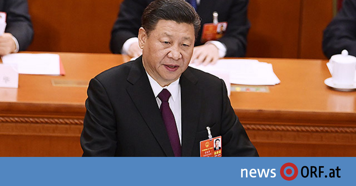 "Xi warnt ""Feinde"" vor ""blutigem Kampf"""
