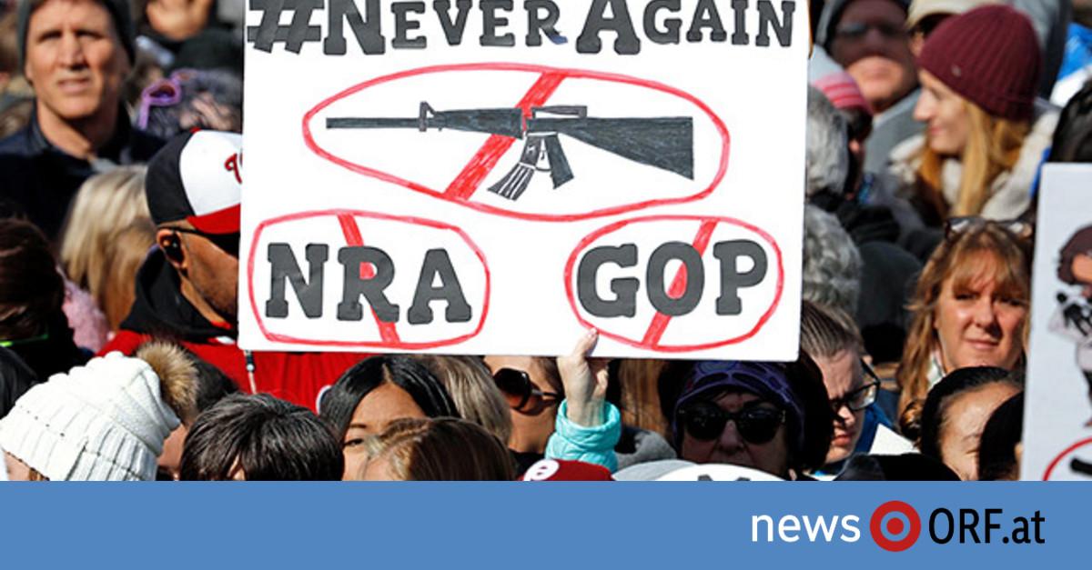 Großdemos gegen Waffengewalt