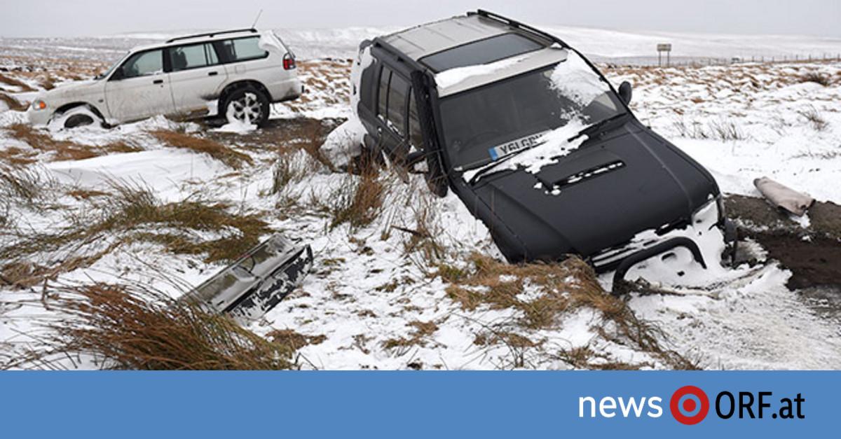 Winterwetter sorgt für Chaos in Europa