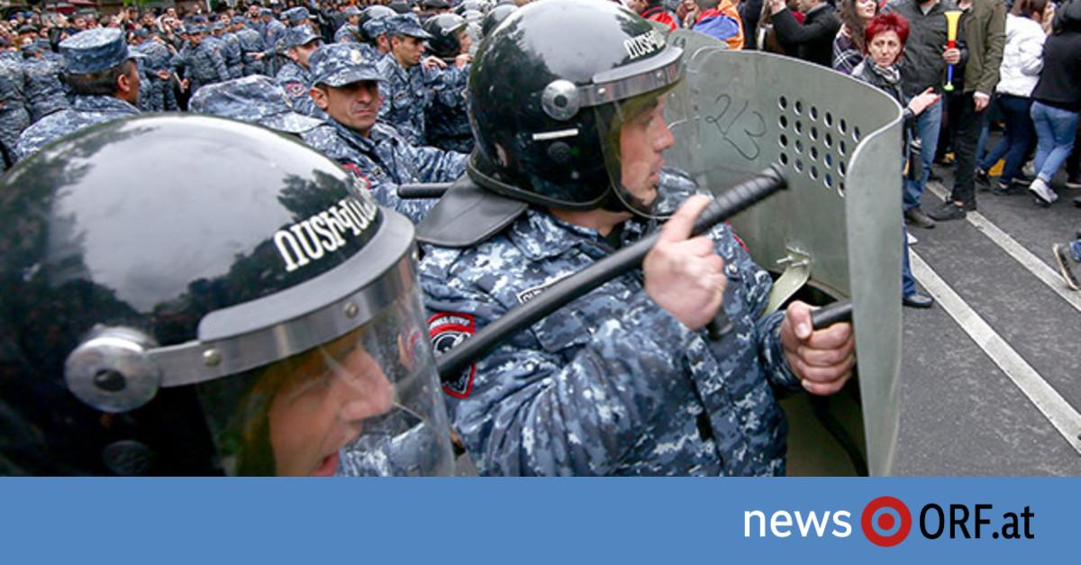 Lage bei Protesten in Armenien eskaliert