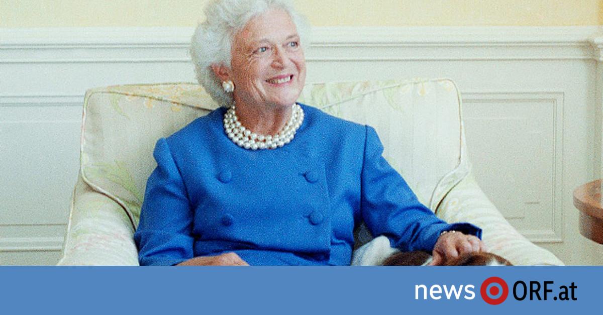 Frühere First Lady Barbara Bush ist tot