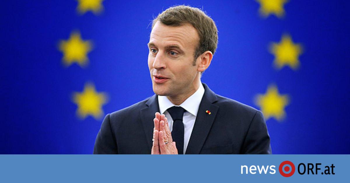 Macron will EU rasch umbauen
