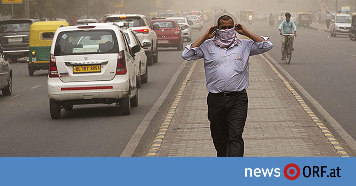 Gewaltige Sandstürme überraschen Indien