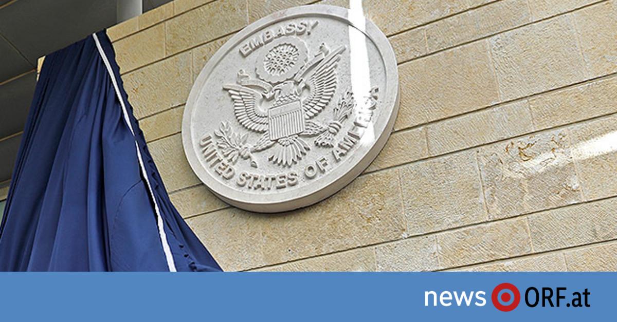 USA eröffneten Botschaft in Jerusalem