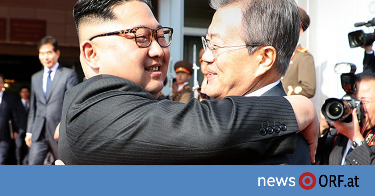 Überraschender Gipfel Kim – Moon