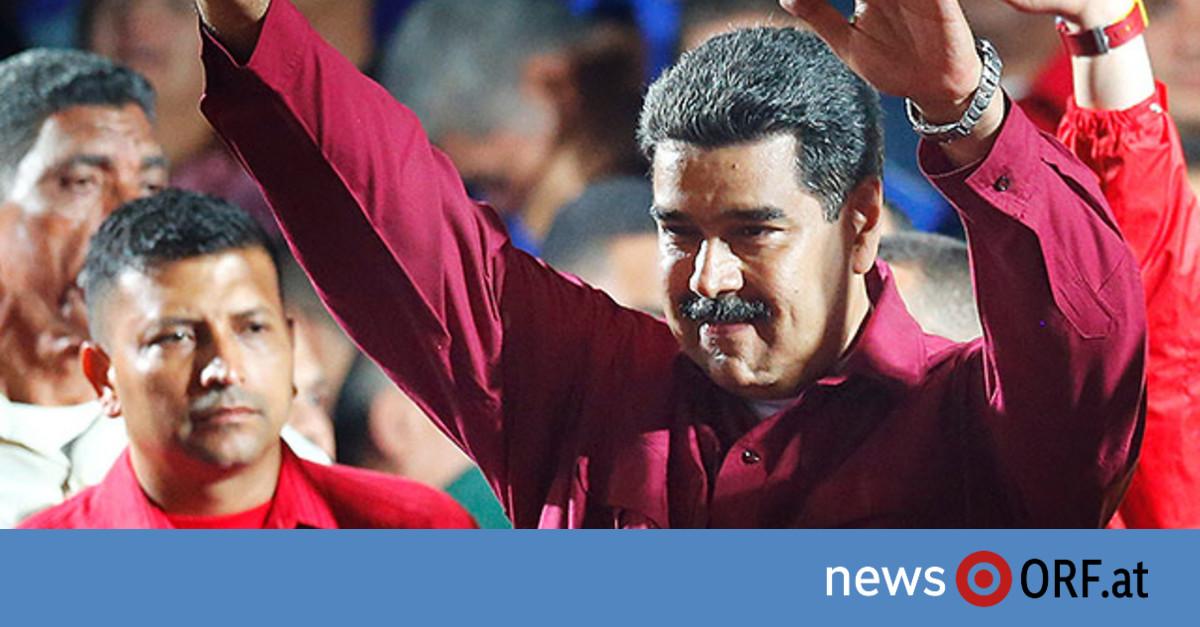 Maduro in Venezuela zum Wahlsieger erklärt